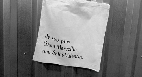 Plus Saint Marcelin que Saint-Valentin - Tote bag